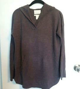 Cynthia Rowley Cashmere Hooded Sweater